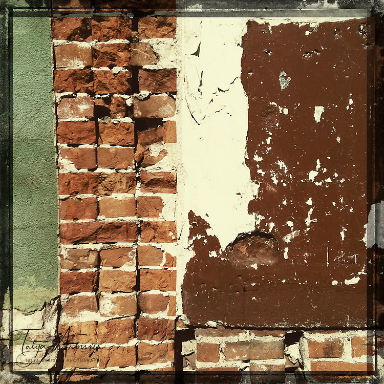 Brick and paint - Davenport, Iowa