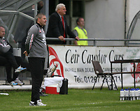 Photo: Rich Eaton.<br /> <br /> Carmarthen Town v SK Brann. UEFA Cup Qualifying. 19/07/2007. SK Brann's Head coach Mons Ivar Mjelde