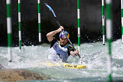 Peter KAUZER of Slovenia during the Kayak Single (MK1) Mens Semi Final race of 2019 ICF Canoe Slalom World Cup 4, on June 30, 2019 in Tacen, Ljubljana, Slovenia. Photo by Sasa Pahic Szabo / Sportida