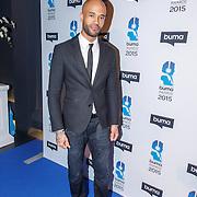 NLD/Hilversum/20150217 - Inloop Buma Awards 2015, Mr. Probz