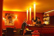 Berlin, Germany. Mädchen ohne Abitur restaurant.