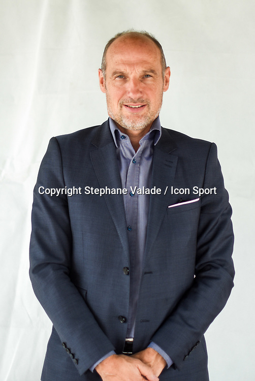 Cedric Daury during photoshooting of Paris FC for new season 2017/2018 on October 17, 2017 in Paris, France<br /> Photo : Stephane Valade / Icon Sport