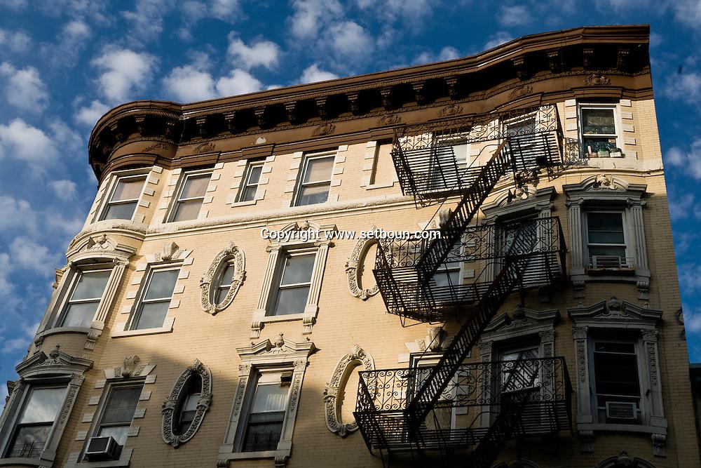 New York. Lower east side, new trendy area  New York - United states  /  Lower east side, dernier quartier ultra tendance  New York - Etats-unis