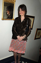 EMMA HOPE at a Conservative Party Reception for the Art held at 24 Thurloe Square, Lndon SW7 on 5th April 2005.<br /><br />NON EXCLUSIVE - WORLD RIGHTS
