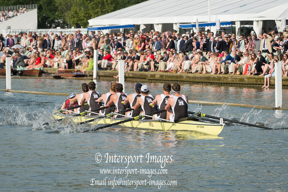 Henley Royal Regatta, Henley on Thames, Oxfordshire, 3-7 July 2013.  Friday  17:47:53   05/07/2013  [Mandatory Credit/Intersport Images]<br /> <br /> Rowing, Henley Reach, Henley Royal Regatta.<br /> <br /> The Thames Challenge Cup<br />  Molesey Boat Club