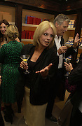Joanna Lumley  The Moneypenny diaries book launch. Smythson, 40 New Bond St. London.  4 October 2005. . ONE TIME USE ONLY - DO NOT ARCHIVE © Copyright Photograph by Dafydd Jones 66 Stockwell Park Rd. London SW9 0DA Tel 020 7733 0108 www.dafjones.com