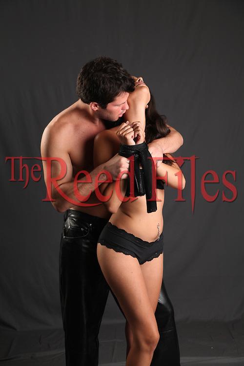 The Reed Files Sensual Bondage Stock Images