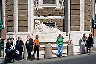 Roma 10 Marzo 2015<br /> Restaurato il complesso monumentale  delle Quattro Fontane<br /> Il Tevere, l&rsquo;Arno, Giunone e Diana tornano a zampillare dopo nove mesi di lavori finanziati dalla maison Fendi  per un costo totale di 320.000 euro. La fontana Diana <br /> Rome March 10, 2015<br /> Restored the monument of Quattro Fontane<br /> The Tiber, the Arno, Juno and Diana return to gush after nine months of work funded by the fashion house Fendi for a total cost of 320,000 Euros. The fountain Diana