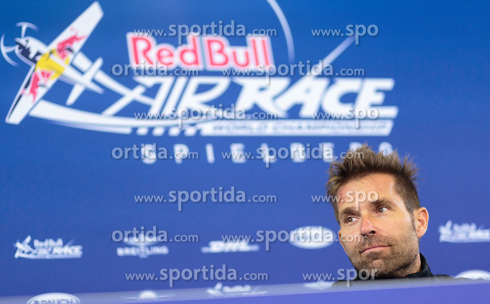 05.09.2015, Red Bull Ring, Spielberg, AUT, Red Bull Air Race, Spielberg, Qualifikation, im Bild Hannes Arch (AUT) // Hannes Arch of Austria during the qualifying of Red Bull Air Race Championships 2015 at the Red Bull Ring in Spielberg, Austria on 2015/09/05. EXPA Pictures © 2015, PhotoCredit: EXPA/ JFK