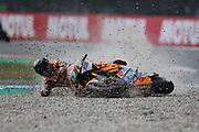 #9 Jorge NAVARRO SPA Beta Tools Speed Up crashes in the Moto2 race during the Motul Dutch TT MotoGP, TT Circuit, Assen, Netherlands on 30 June 2019.