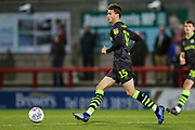 Forest Green Rovers James Morton(15), on loan from Bristol City during the EFL Sky Bet League 2 match between Morecambe and Forest Green Rovers at the Globe Arena, Morecambe, England on 22 October 2019.