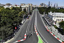 June 24, 2017 - Baku, Azerbaijan - Motorsports: FIA Formula One World Championship 2017, Grand Prix of Europe, .#20 Kevin Magnussen (FIN, Haas F1 Team) (Credit Image: © Hoch Zwei via ZUMA Wire)