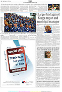 fotografie: Quirien de Leeuw. Publicatie: TheHerald newspaper<br />