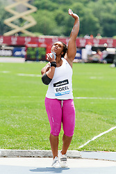 Samsung Diamond League adidas Grand Prix track & field; Women's Shot Put, Cleopatra Borel, TRI