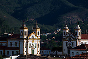 Mariana_MG, Brasil...Lado a Lado as Igrejas Sao Francisco de Assis e Nossa Senhora do Carmo em Mariana, Minas Gerais. ..Side by Side, the churches of Sao Francisco de Assis and Nossa Senhora do Carmo in Mariana, Minas Gerais...Foto: JOAO MARCOS ROSA / NITRO