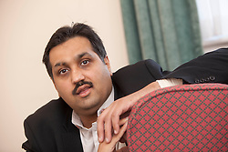 Mohammed Abad's willy and one testicle were ripped off during a horror car accident when he was just six..
