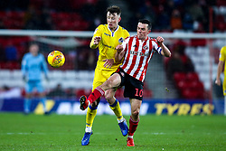 Ollie Clarke of Bristol Rovers takes on George Honeyman of Sunderland - Mandatory by-line: Robbie Stephenson/JMP - 15/12/2018 - FOOTBALL - Stadium of Light - Sunderland, England - Sunderland v Bristol Rovers - Sky Bet League One