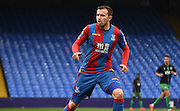 Jordan Mutch watches on during the Final Third Development League match between U21 Crystal Palace and U21 Bristol City at Selhurst Park, London, England on 3 November 2015. Photo by Michael Hulf.