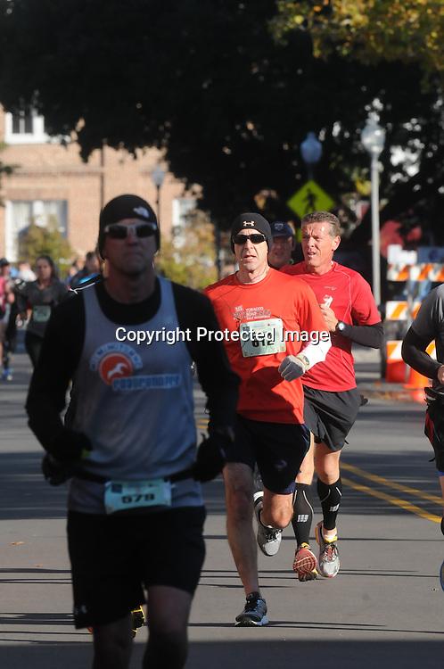 The 16th annual Battleship Half Marathon was held Sunday November 2, 2014 in Wilmington, N.C. (Jason A. Frizzelle)