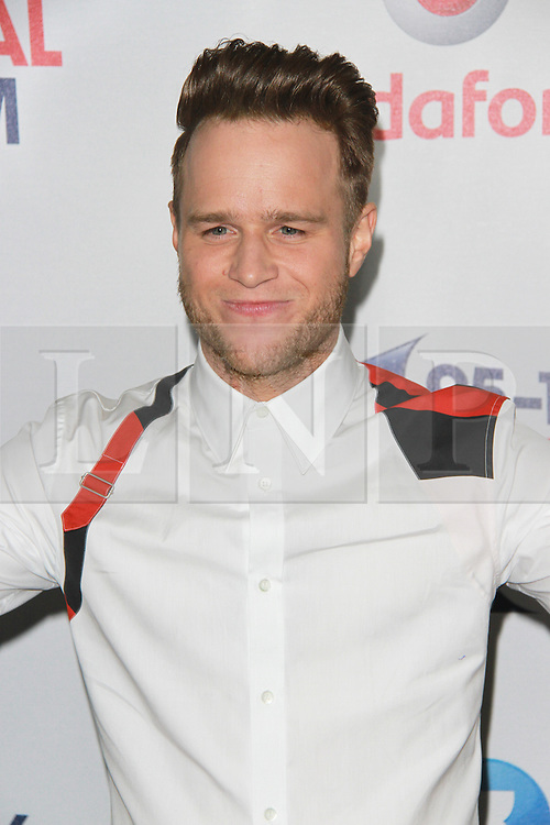 © London News Pictures. Olly Murs, Capital FM Summertime Ball, Wembley Stadium, London UK, 06 June 2015, Photo by Brett D. Cove /LNP