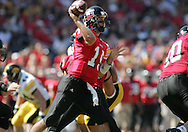 01 SEPTEMBER 2007: Northern Illinois quarterback Dan Nicholson (19) throws a pass in Iowa's 16-3 win over Northern Illinois at Soldiers Field in Chicago, Illinois on September 1, 2007.