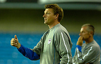 Photo: Daniel Hambury.<br />Millwall v Reading. Pre Season Friendly. 27/06/2006.<br />Millwall's manager Nigel Spackman gives the thumbs up.