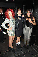 LONDON - August 07: StooShe at The Rose Club in London (Photo by Brett D. Cove)