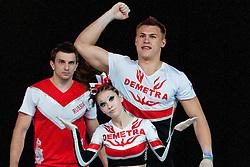 Demetra 1, Russia at European Cheerleading Championship 2011, on July 2, 2011, in SRC Stozice, Ljubljana, Slovenia (Photo by Matic Klansek Velej / Sportida)