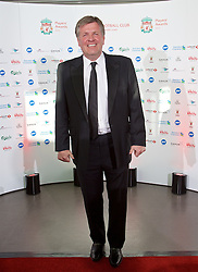 LIVERPOOL, ENGLAND - Tuesday, May 19, 2015: Former Liverpool player Jan Molby arrives on the red carpet for the Liverpool FC Players' Awards Dinner 2015 at the Liverpool Arena. (Pic by David Rawcliffe/Propaganda)