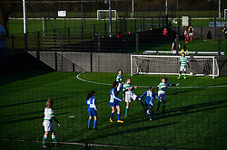 Bradley Stoke Community school represent Bristol Rovers at the EFL Cup held at South Bristol Sports Centre playing against Yeovil Town - Mandatory by-line: Dougie Allward/JMP - 05/01/2017 - FOOTBALL - South Bristol Sports Centre - Bristol, England - EFL Girls Cup