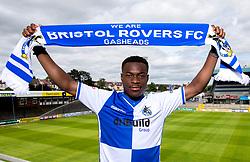 Marc Bola signs for Bristol Rovers ahead of the 2017/18 EFL Sky Bet League One Season - Mandatory by-line: Robbie Stephenson/JMP - 14/07/2017 - FOOTBALL - Memorial Ground - Bristol, England - EFL Sky Bet League One