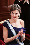 130717 Spanish Royals visit UK - Day 2 - The Lord Mayor Dinner