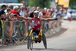 HUG Marcel, SUI, Marathon, T54, 2013 IPC Athletics World Championships, Lyon, France