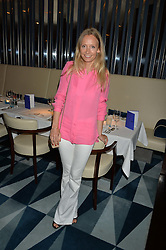 MARTHA WARD at a dinner to celebrate the start of The Season held at Rivea, Bulgari Hotel, 171 Kightsbridge, London on 18th May 2016.