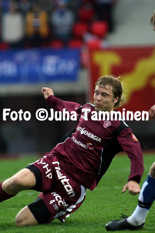 28.05.2007, Ratina, Tampere, Finland..Veikkausliiga 2007 - Finnish League 2007.Tampere United - FC Lahti.Janne Moilanen - FC Lahti.©Juha Tamminen.....ARK:k