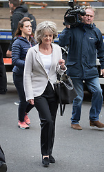 © Licensed to London News Pictures. 14/09/2017. London, UK. Kensington and Chelsea Council Leader Elizabeth Campbell arrives on the first day of the public inquiry into the Grenfell fire. Police say they believe 80 people died in the tragedy. Photo credit: Peter Macdiarmid/LNP