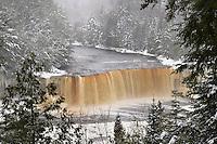 Tahquamenon Falls State Park<br /> Michigan's Upper Peninsula