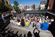 High Line Rail Yards Opening Activities