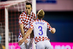 Nikola Kalinic of Croatia during the football match between National teams of Croatia and Greece in First leg of Playoff Round of European Qualifiers for the FIFA World Cup Russia 2018, on November 9, 2017 in Stadion Maksimir, Zagreb, Croatia. Photo by Ziga Zupan / Sportida
