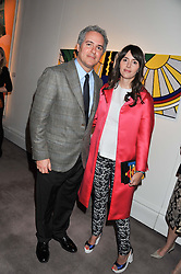 FARES & TANIA FARES at a party to celebrate the publication of Can We Still Be Friends by Alexandra Shulman held at Sotheby's, 34-35 New Bond street, London on 28th March 2012.