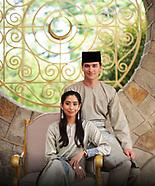 De eerste officiële foto's van Nederlander Dennis Verbaas en zijn verloofde, de Maleisische prinses
