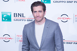 October 28, 2017 - Roma, RM, Italy - Photocall with US actor Jake Gyllenhaal.during photocall for the ''Stronger'' movie on the third day of the Rome Film Festival. (Credit Image: © Matteo Nardone/Pacific Press via ZUMA Wire)