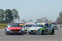 #11 Rob Austin Duo Motorsport with HMS Alfa Romeo Giulietta during BTCC Race 1  of the 2018 British Touring Car Championship at Croft, Dalton On Tees, North Yorkshire, United Kingdom. June 24 2018. World Copyright Peter Taylor/PSP.