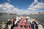 Boat excursion to the surrounding islands. Leaving Kauppatori (Market Square) at the city center.