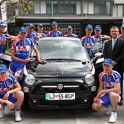 20080409: Cycling - Adria Mobil before season 2008