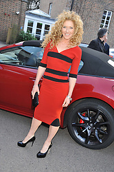 KELLY HOPPEN at a VIP dinner hosted by Maserati following the unveiling of the new Maserati 'Quattroporte' at The Hurlingham Club, London on 17th April 2013.