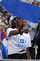 Supporters Auxerre - 30.05.2015 - Auxerre / Paris Saint Germain - Finale Coupe de France<br /> Photo : Andre Ferreira / Icon Sport
