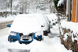 Snow in ECCLESFIELD & CHAPELTOWN area Sheffield ..1st December 2010.Images © Paul David Drabble