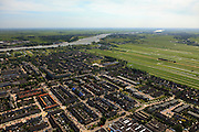 Nederland, Utrecht, Lopik, 23-05-2011;.Dorp aan de rivier de Lek in polderlandschap. Village Lopik on the river Lek in polder. luchtfoto (toeslag), aerial photo (additional fee required).copyright foto/photo Siebe Swart