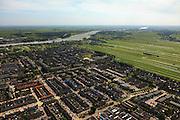 Nederland, Utrecht, Lopik, 23-05-2011;.Dorp aan de rivier de Lek in polderlandschap. Village Lopik on the river Lek in polder. luchtfoto (toeslag), aerial photo (additional fee required).copyright foto/photo Siebe Swart